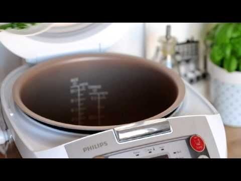 Philips Multicooker: Łosoś z brokułami