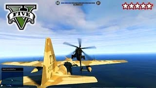 GTA 5 LANDED IT! On C130 Stunts And Jumps! With The CREW