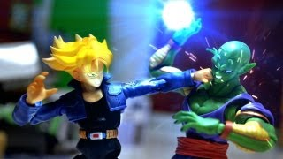 Dragon Ball Z Stop Motion Piccolo VS Trunks 七龍珠
