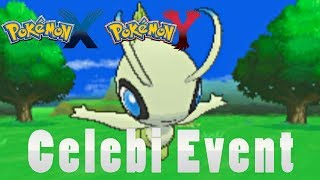 "Pokémon X And Y How To Get Event ""Celebi""!"
