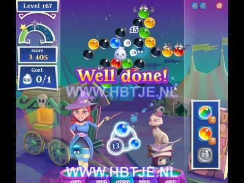Bubble Witch Saga 2 level 167