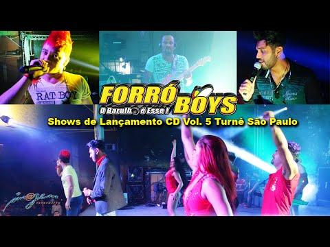 Forró Boys Shows de Lançamento CD Vol. 5 Turnê São Paulo HD