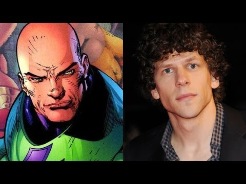Jesse Eisenberg cast as Lex Luthor!? - Batman/Superman Film