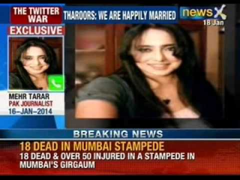 Latest News: the twitter war; mystery surrounds death of Sunanda Tharoor - NewsX