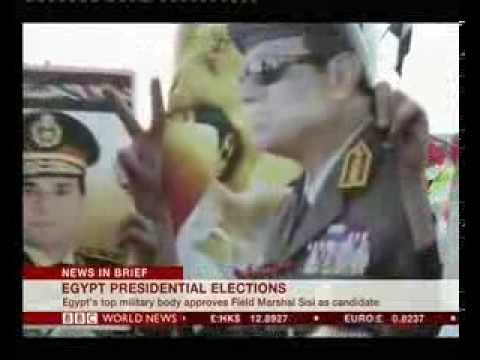 Egypt army support Sisi as presidential candidate