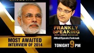 Frankly Speaking With Narendra Modi Promo 1