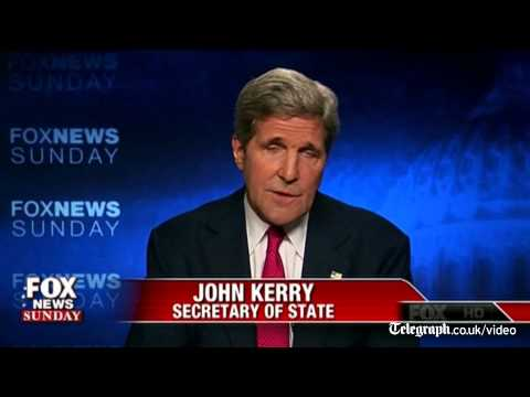 Gaza conflict: John Kerry makes open mic gaffe