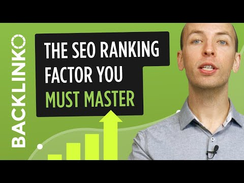 The SEO ranking factor you MUST master in 2016 (