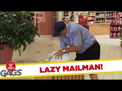 Lazy Mailman FAILS at His Job