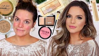 CURRENT FULL COVERAGE / DRUGSTORE FOUNDATION ROUTINE |  Casey Holmes