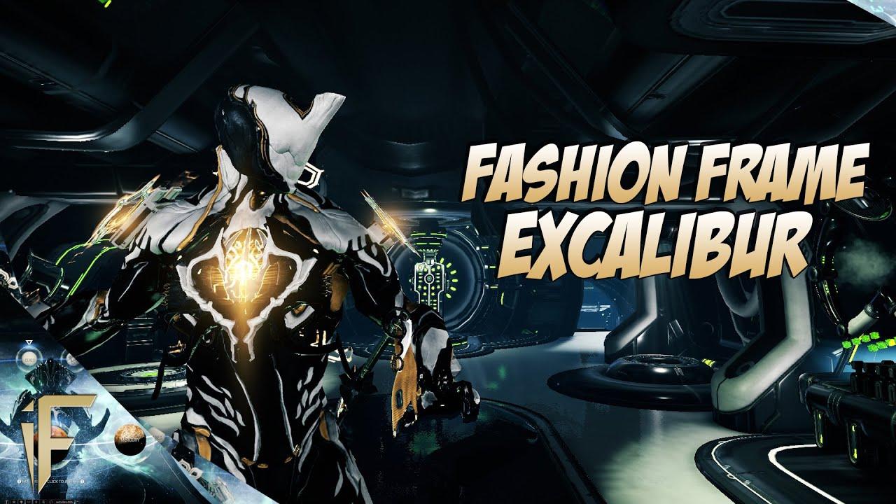 Warframe : Excalibur Fashion Frame