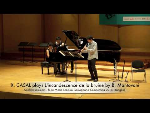 XABIER CASAL plays L'incandescence de la bruine by Bruno Mantovani
