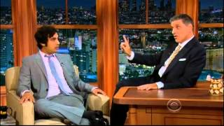 Video: Kunal Nayyar - Craig Ferguson (2012)