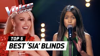 BEST 'SIA' Blind Auditions in The Voice | The Voice Global