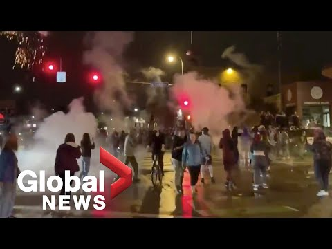 George Floyd | Violence erupts during Minneapolis protests over death of unarmed black man | May 2020