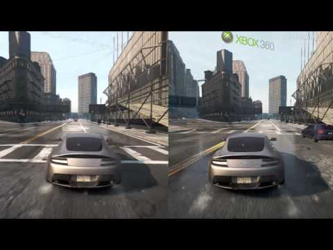 Need for Speed Most Wanted 2012 - PS3 vs Xbox 360 - Graphics Comparison