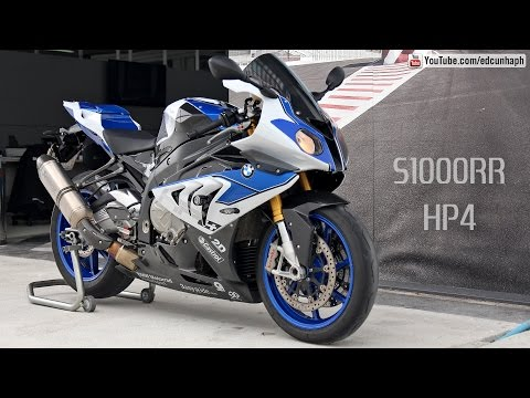 BMW S1000RR HP4 Competition- Akrapovic Sound & Details Bikers Garage 06