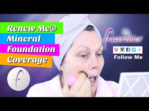 How Apply Mineral Foundation Makeup & Look Flawless - Look Flawless - Not Fake - Mineral Foundation