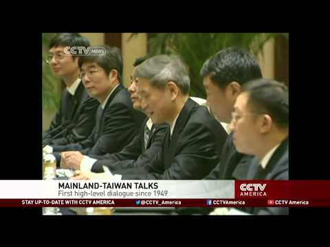 China and Taiwan hold talks for first time since 1949