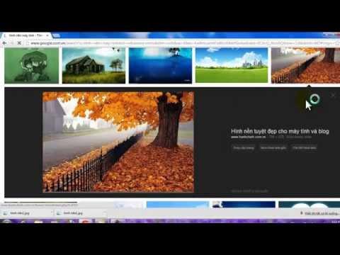 Hướng dẫn cài hình nền desktop