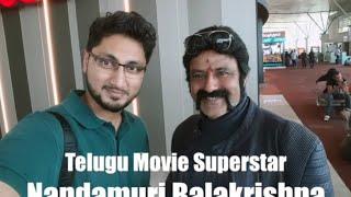 Bala Krishna exhibits cine skills in the plane -Exclusive ..