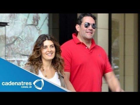 Mayrín Villanueva confiesa estar enamorada de Eduardo Santamarina