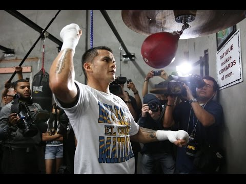 Marcos Maidana - Open Workout Live Stream - Tue 8/26 - SHOWTIME Boxing