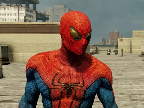 THE AMAZING SPIDER-MAN 2 VIDEOGAME - SPIDER-MAN 2012 COSTUME SHOWCASE