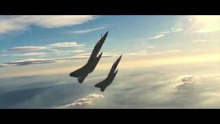 Fighter Jets Formation Flying (HD)