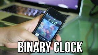 Tweak para el Lockscreen: Binary Clock para iPhone & iPod Touch