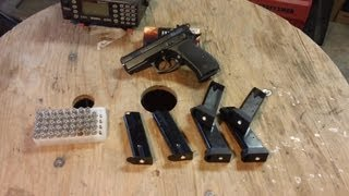 CZ-75 Compact, P-01, Varient Magazine Modifications, California Edition. view on youtube.com tube online.