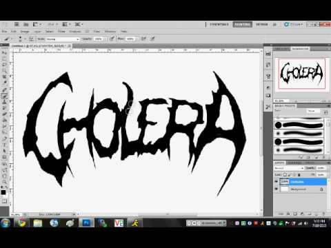 Deathcore Font How to Make a D...