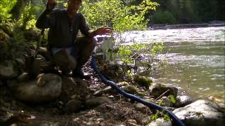 Gold Prospecting In North Central Idaho