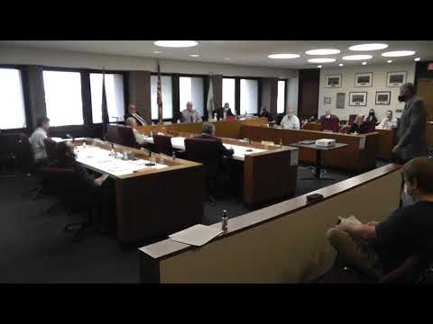 Clinton County Legislature Meeting 9-23-20