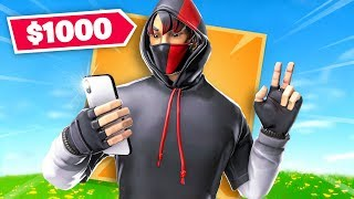 This Fortnite Skin Costs $1000...