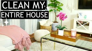ENTIRE HOUSE CLEANING ROUTINE 2018   EXTREME CLEANING MOTIVATION   SPEED CLEANING   TARA HENDERSON