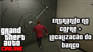 GTA 5 Online Cofre Secreto + Localizaçao Do Banco