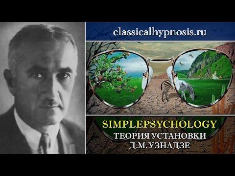 Теория установки Д.М. Узнадзе.