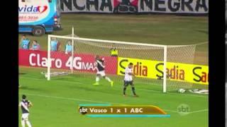 Vasco empata com ABC no primeiro duelo das oitavas de final