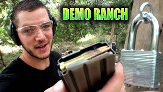 What Caliber Bullet Will Shoot A Lock Open?
