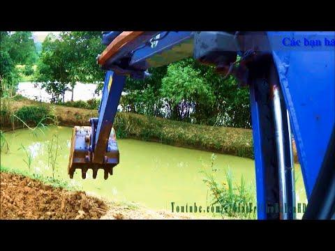 See excavators, xem máy xúc (máy múc) làm việc san lấp by Giai tri cho Be yeu