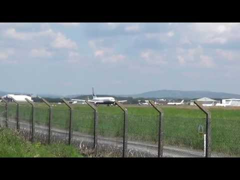 Stunning private Boeing 767 (N763BF) Taxi and Powerful Take-Off @ Shannon airport