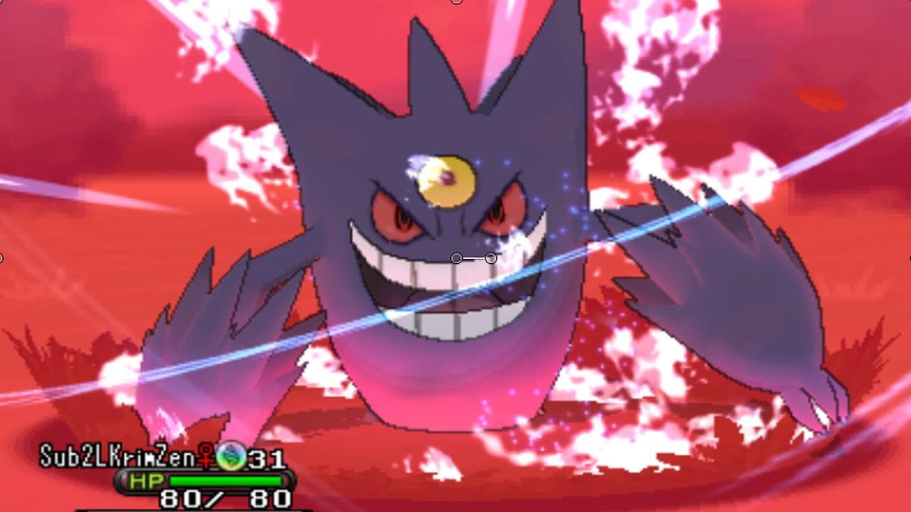 how to get mega gengar pokemon y