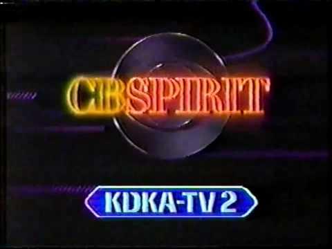 CBS Spirit - KDKA-TV Station ID, 1988