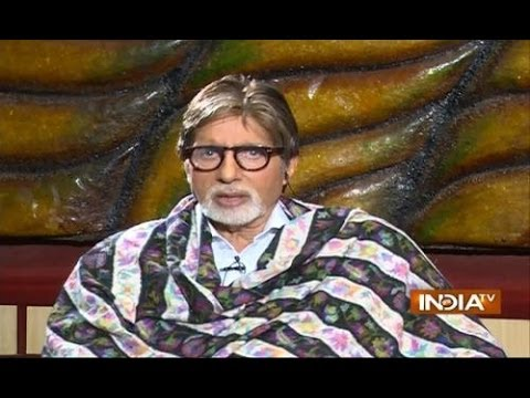 Exclusive: Amitabh Bacchan speaks on India TV about Narendra Modi