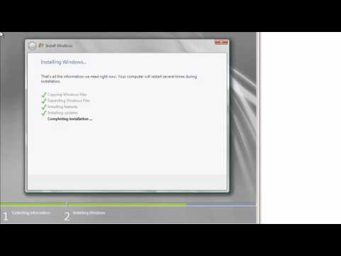 70-640 Active Directory / 2008 R2 - Installing Windows Server 2008 R2