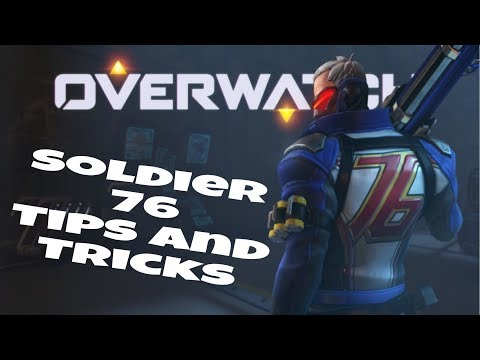 Overwatch Soldier 76  advanced guide. Everything you need to know about soldier 76.