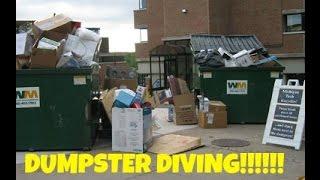 DUMPSTER DIVING!!!!!!!!!!!!!!!!!!
