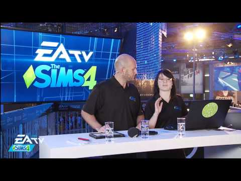 The Sims Live Broadcast - The Sims 4 at Gamescom 2013,