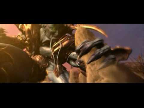 Нарезка заставок из Warcraft III